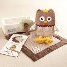 Owl Baby Shower Gift Set
