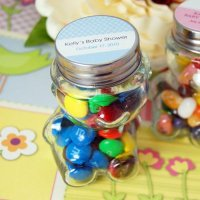 Teddy Bear Candy Jars