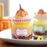 Lemon Meringue Pie in a Jar Favor
