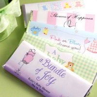 Chocolate Baby Shower Favors