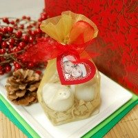 Two Turtle Doves Christmas Favor