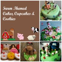 Farm Baby Shower Cakes