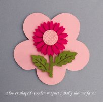 Wooden Shaped Magnets Favors