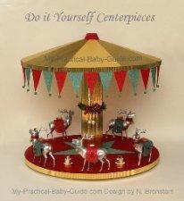 Merry Go Round Centerpiece