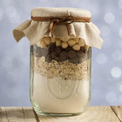 DIY Cowgirl Cookies in a Baby Shower Jar