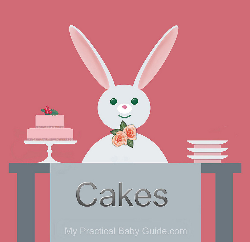 Free Printable Rabbit Baby Shower Food Labels Cakes