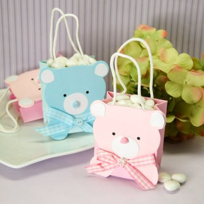 Bear Baby Shower Favor Bags