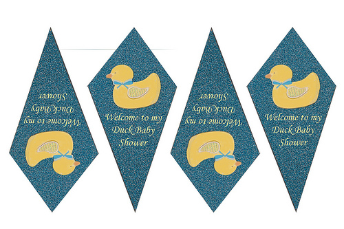 Free Duck Baby Shower Cupcake Toppers