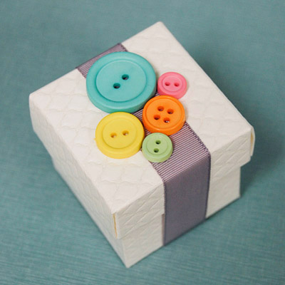 Cute As A Button Baby Shower Favor Box My Practical Baby