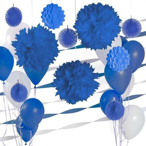 Navy Blue  Nautical Birthday Decorating Kit