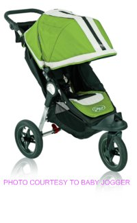 Baby Jogger City Elite Single Green Sport