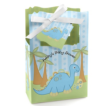 Dinosaur Baby Shower Favor Boxes