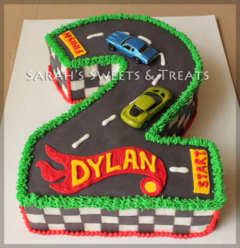 Race Car Track Birthday