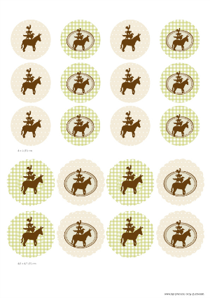 Free Printable Cupcake Toppers Farm Baby Shower
