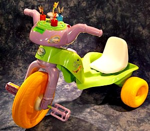 Disney-branded Fairies Plastic Trikes