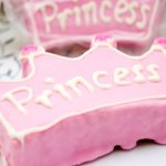baby shower rice crispy treat for princess baby shower