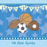 Sport baby shower theme ideas my practical baby shower guide - Baby boy sports room ideas ...