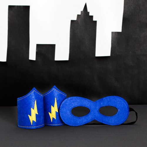 Superhero Mask and Armband