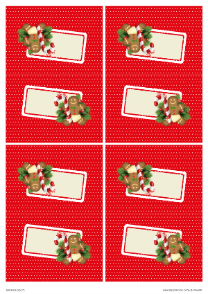 Free Printable Christmas Baby Shower Food Tent Cards