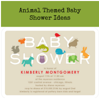 Animal Baby Shower Ideas