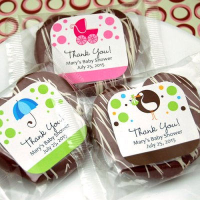 Chocolate Baby Shower Favors My Practical Baby Shower Guide