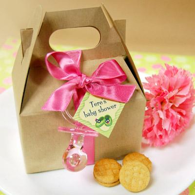 DIY Baby Shower Cookies/Candies Favor Box