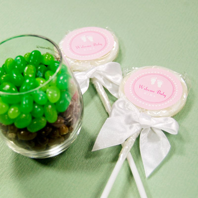 DIY  Baby Shower Lollipop Favors