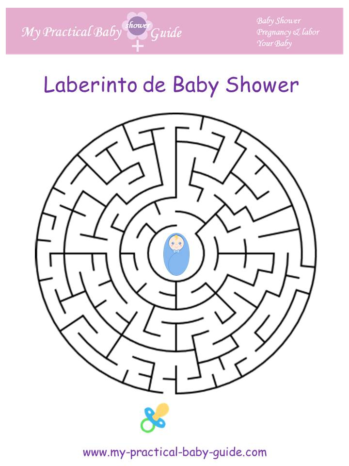 Laberinto de Baby Shower