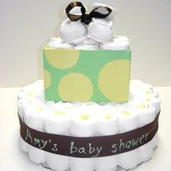 Diaper Cake Polka Dot