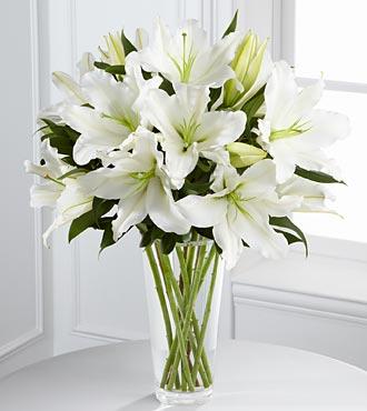 Lilies bouqet