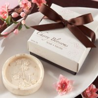 Cherry Blossom Soap Baby Shower Favor