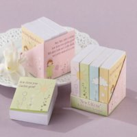 Notepaper Baby Shower Favors