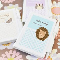 Pocket Sized Notepads Baby Shower Favors