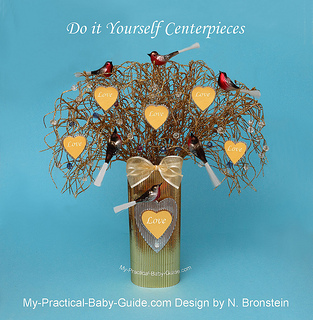 DIY  Baby Shower Wishing Tree