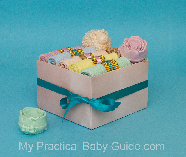 Homemade Baby Shower Gifts - Baby Washcloths