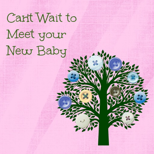 Baby shower messages my practical baby shower guide baby shower message greeting card cant wait to meet your new baby m4hsunfo