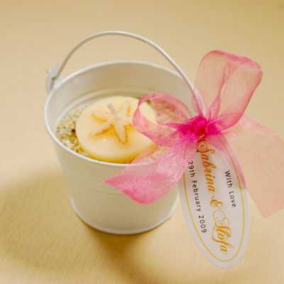 Beach Pail Baby Shower Favor