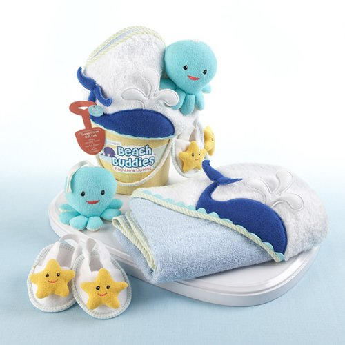 Nautical Baby Bath Gift Set