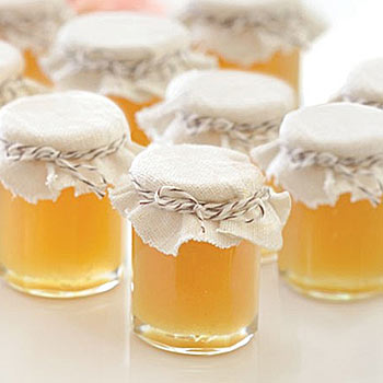 Honey Baby Shower Favor Jars with Free Printable Labels