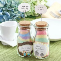 Chalk and Salt Art Jar Favor