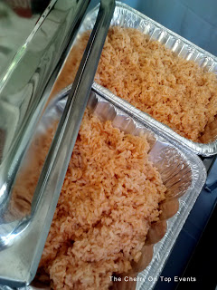 Baby Shower Food Ideas- Seasoned Rice