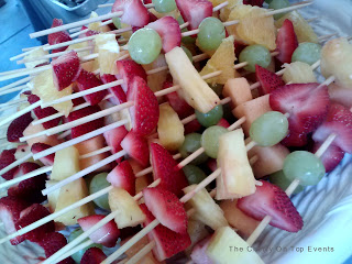 Baby Shower Desert Ideas-Fruit skewers