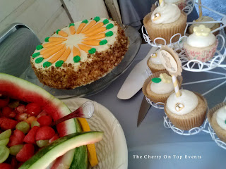 Baby Shower Desert Ideas - carrot cake