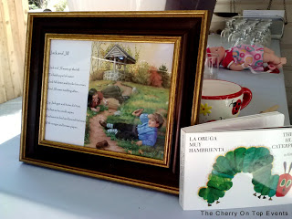 Baby Shower Framed Nursery Rhymes