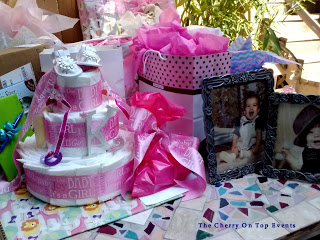 Baby Shower Gift Table