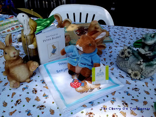 Peter Rabbit Book Themed Baby Shower