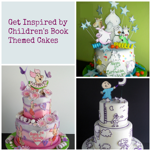 3 Childrenu0027s Book Themed Baby Shower Cakes