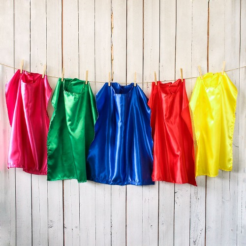 Superhero Colorful Cape