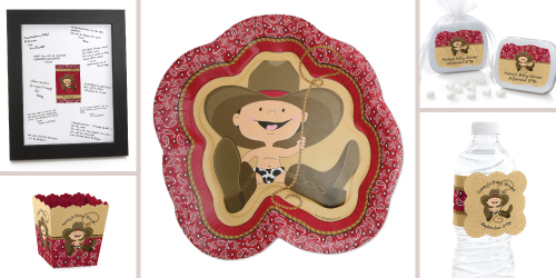 Western Cowboy Baby Shower Supplies