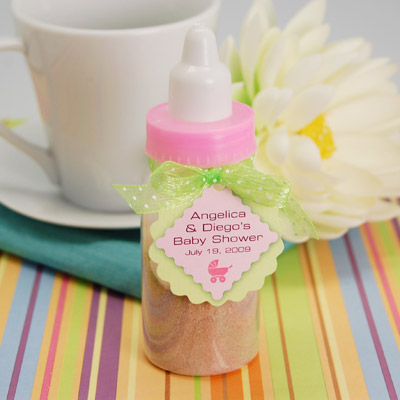 diy baby shower bottle favor my practical baby shower guide